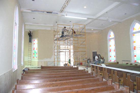 Woodbury Church Of Christ Bringing 'Old' Auditorium Back To Life