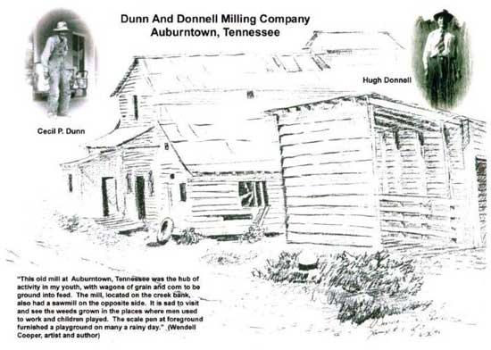 Dunn & Donnell Mill Was Hub Of Activity in Auburntown