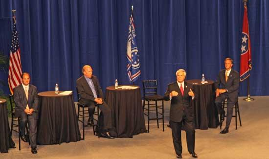 Jobs, Budget Dominate MTSU Governor's Forum