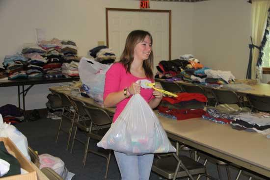 Cannon County Collects For Flood Victims