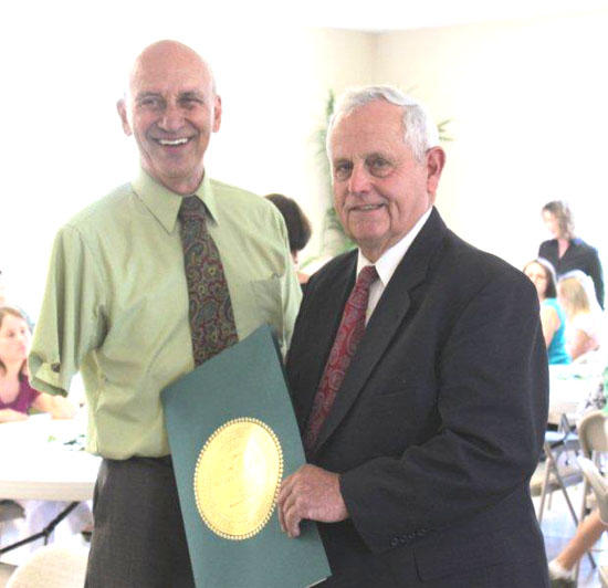 Retirement Reception Honors Roger Turney