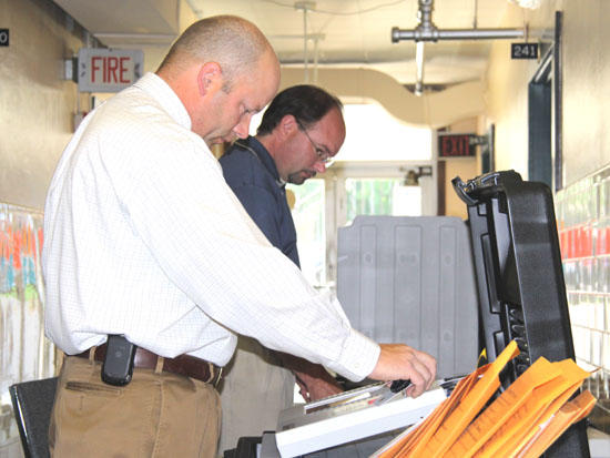 Voting Machines Tested At Election Office