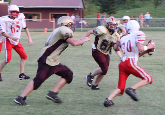 Junior Lions Narrowly Defeated In Overtime