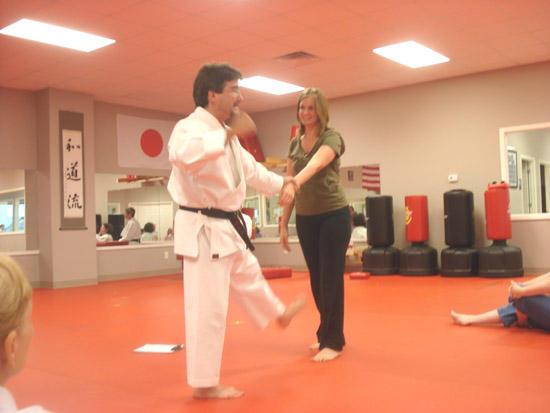 SAVE Participates In Self-Defense Class