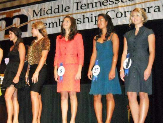 Cannon County Beauties Show Well In MTEMC Pageant