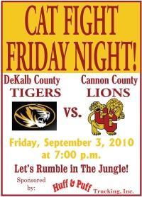 DeKalb-Cannon Rivalry Heats Up Again Friday