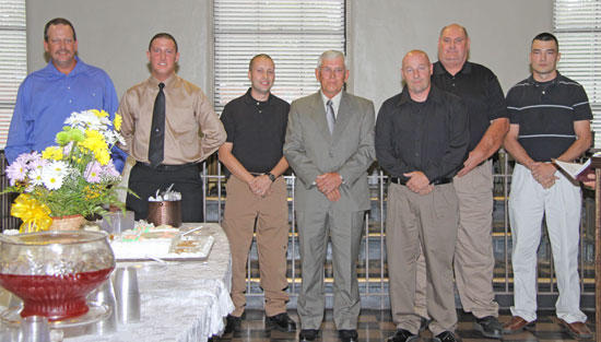 Six To Join Young At Sheriff's Department