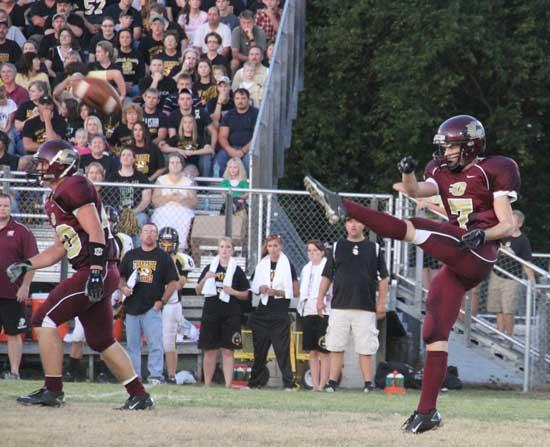 Tigers Bombard Lions, 34-7