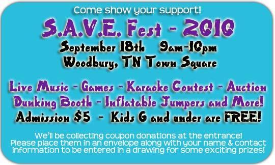 S.A.V.E. Fest 2010 Takes Over The Square Saturday