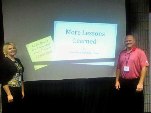 East Side/West Side Principals Present At LEAD Conference
