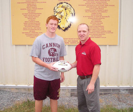 McLaurine Receives FNB's Player Of The Week Award