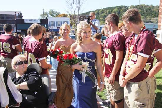 A Lovely Day For A Homecoming Parade