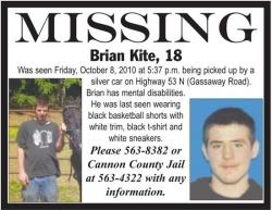 Sheriff: No Leads, Clues<br>In Search For Missing Youth