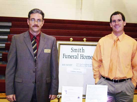 Smith Funeral Home Represented At College/Career Fair
