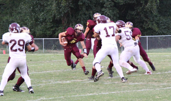 Lions Fall In Opener, 42-14