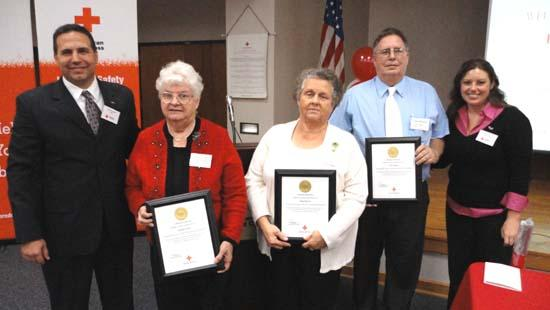 Hirlston Receives Outstanding Volunteer Award