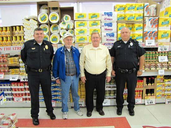 Neighborhood Watch, Smithson's Piggly Wiggly Launch Food Drive
