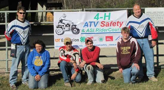 4-Hers Complete ATV Safety Course