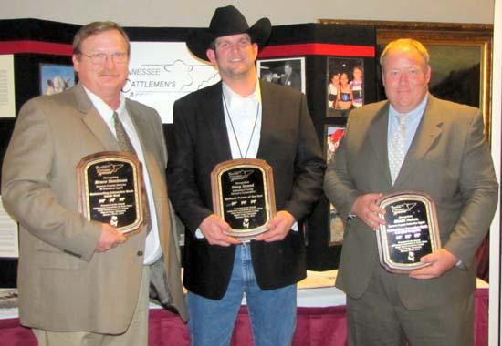 Three From Cannon County Reconized At Tennessee Cattlemen's Banquet