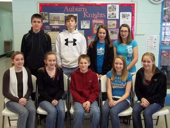 Auburn School Announces Top 10