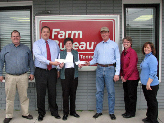 Farm Bureau Donates To Food Bank