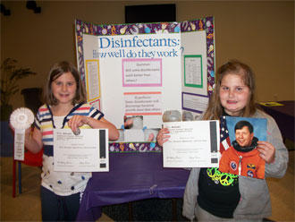 Cannon Students Complete In Science Fair