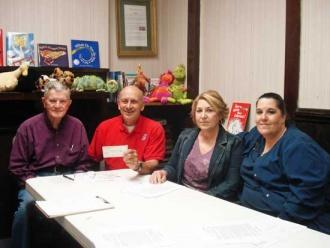 Auburntown City Council Donates to SAVE