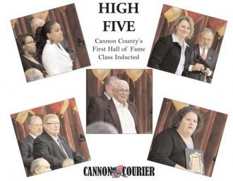 Special Section: Cannon Courier HOF, Sports Banquet