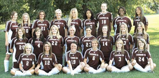 2009 CCHS Girls Soccer Team