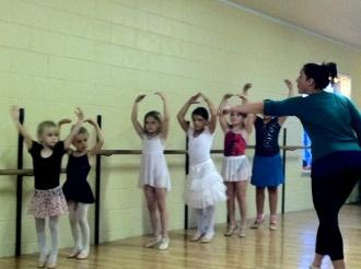 Balancing Act At Cannon Arts Dance Studio