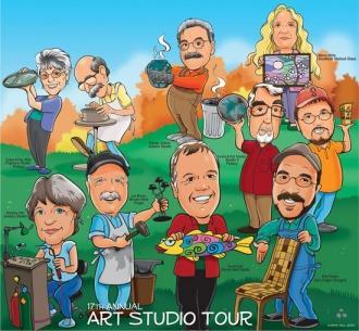 Stones River Craft Association's Studio Tour