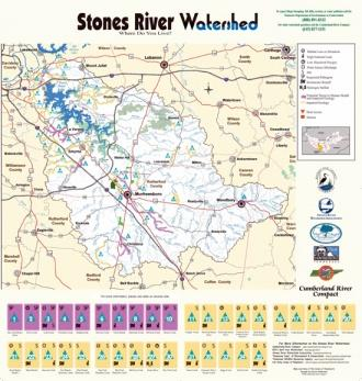 Stones River Water Health Map Released