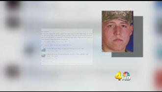 Soldier, A Woodbury Native, Featured By Channel 4 News