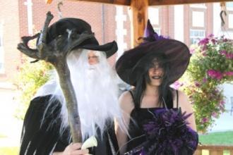 Witch & Wizard Wedding Story