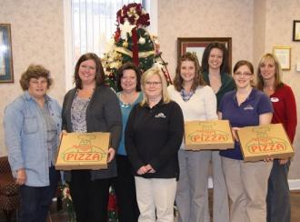 FNB Wins Food Drive Contest