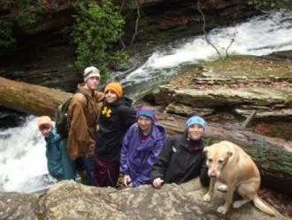 CCHS Outdoor Club Hikes Fiery Gizzard