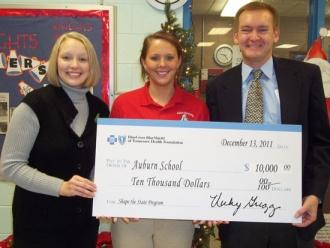 Auburn School Receives Shape The State Grant