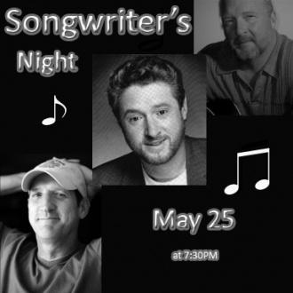 May 25: Summer Songwriter's Night @ Arts Center