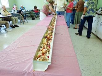 Senior Center Celebrates Banana Split Day