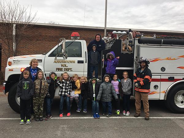 Safety Week held at Auburn School