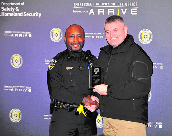 Hayes receives honor