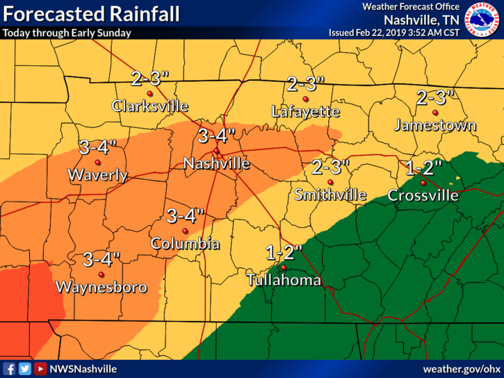 Lethal flash flooding possible through Saturday
