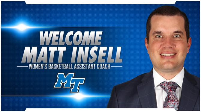 Matt Insell joins Lady Raider hoops staff